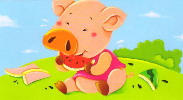 可爱小猪头像字
